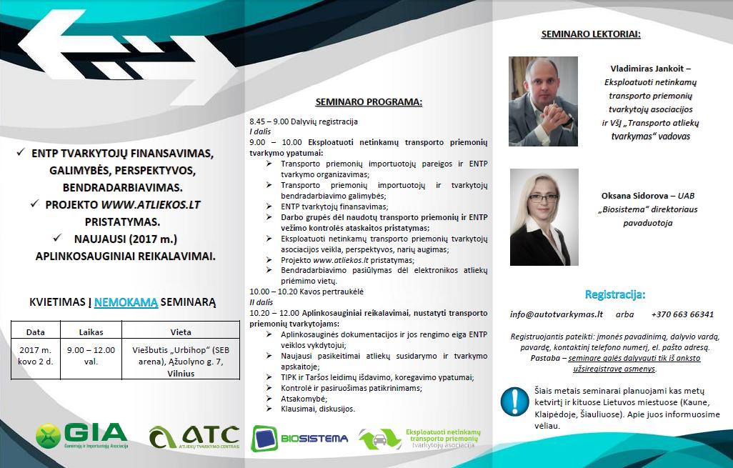 Kvietimas i seminara